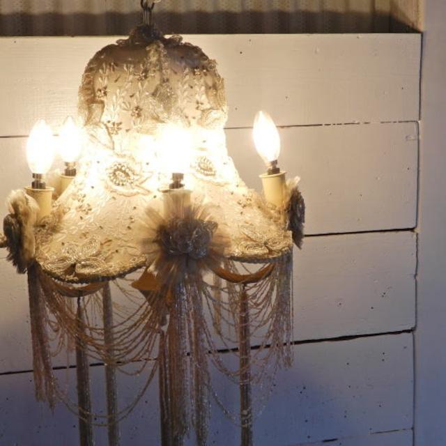 TOPANGA Lighting エンブロイダリーシャンデリア キャリー