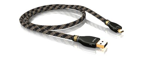 KR-2 Silver USB cable 2.0 A/B (100cm) :: VIABLUE