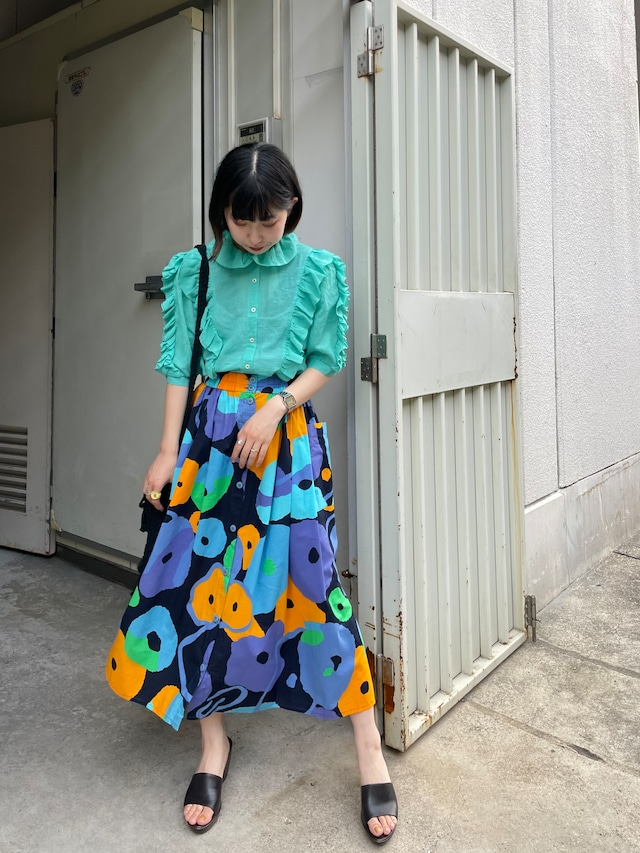 frill blouse / 7SSTP27-03