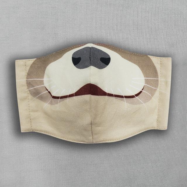 コツメカワウソ|動物マスク
