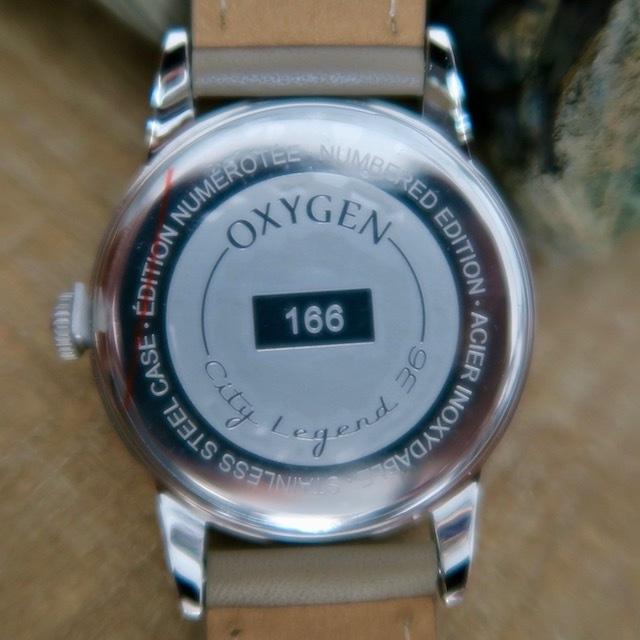 OXYGEN CITY LEGEND 36