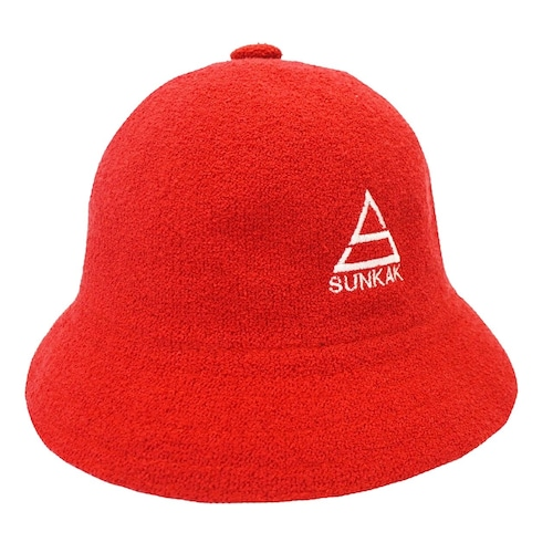 SUNKAK PILE BALL HAT RED