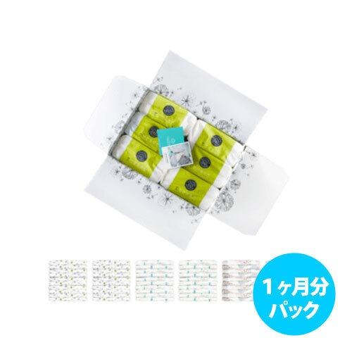 [1ヶ月パック] Lillydoo エコ紙おむつ(サイズ 3)