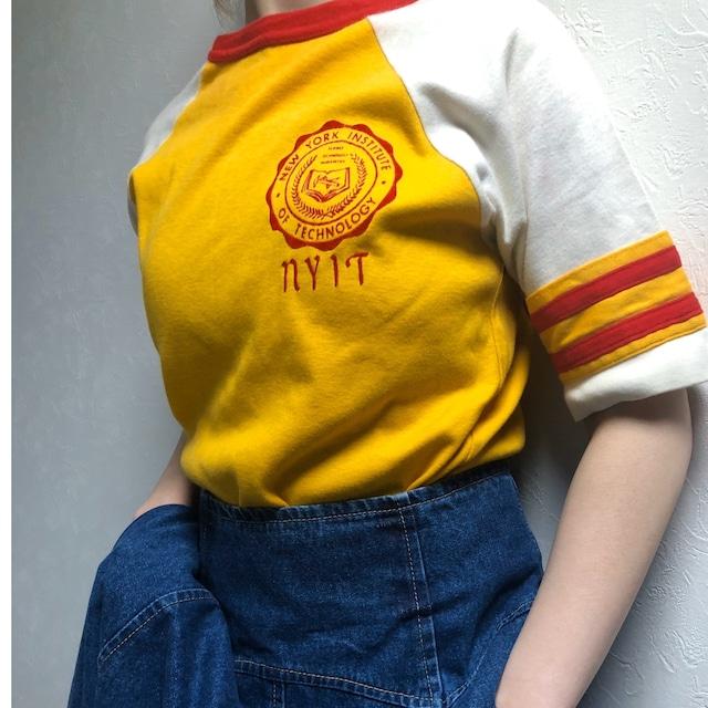 70's~80's US vintage raglansleeve t-shirt