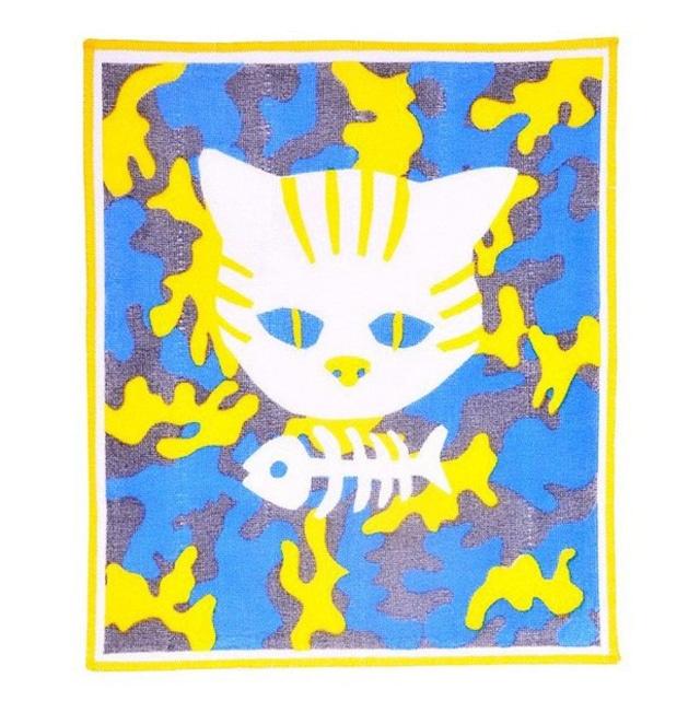 ひびのこづえ かやのふきん/ WHITE CAT 奈良産蚊帳生地使用 K3127