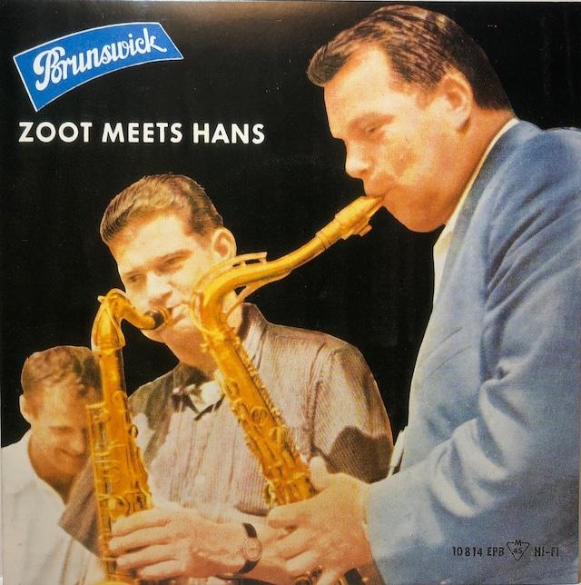[中古7inch]  Zoot Sims And Hans Koller – Zoot Meets Hans