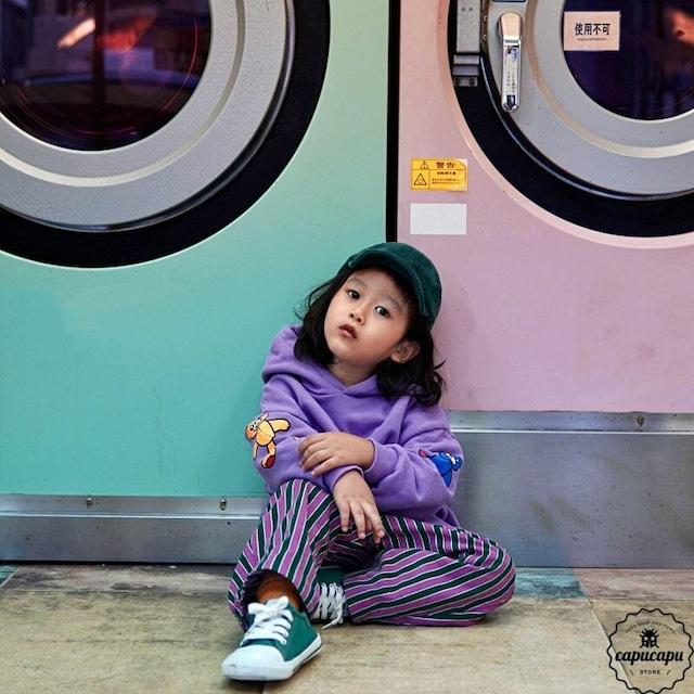«即納» bear hoodie 2colors くまのパーカー