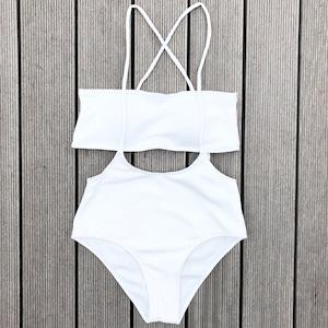 Bikini♡レイヤードバンドゥビキニ ホワイト