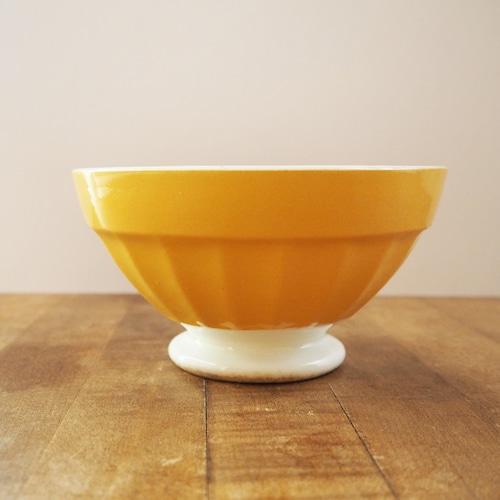 Digoin(ディゴワン)の黄色いカフェオレボウル