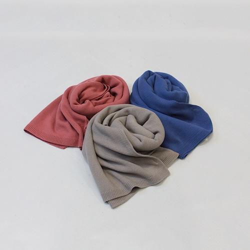OUTERSUNSET(アウターサンセット) wool knit stole 2021秋冬新作 [送料無料]