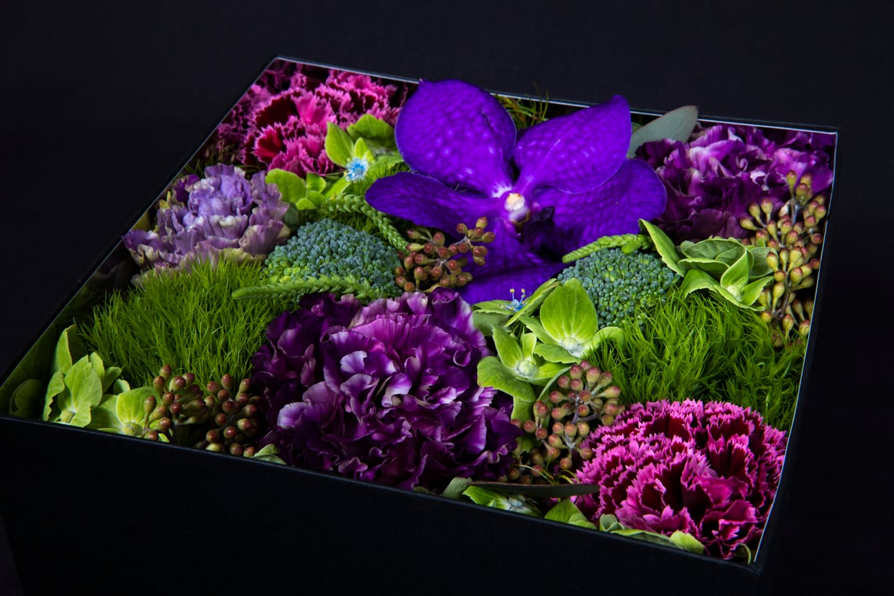 Fresh Flower Box 【Size L】全6色