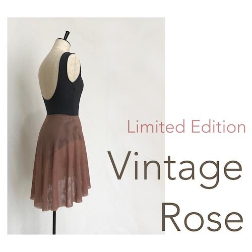 """◆Limited Edition・Minimalist """"VINTAGE ROSE""""(限定カラー:ミニマリスト・プルオンバレエスカート(ヴィンテージ・ローズ))"""