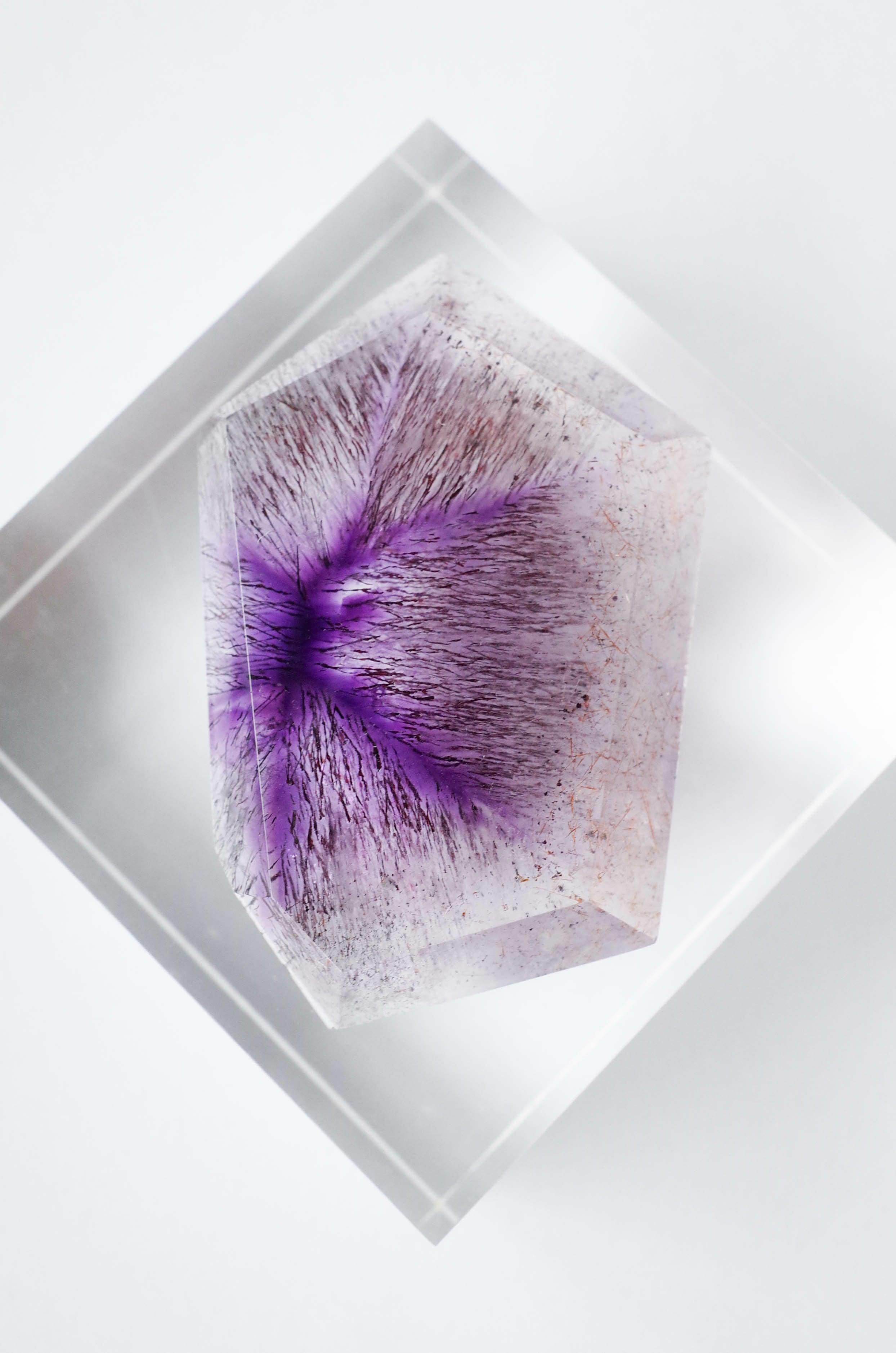 Trapiche Amethyst  - TA001