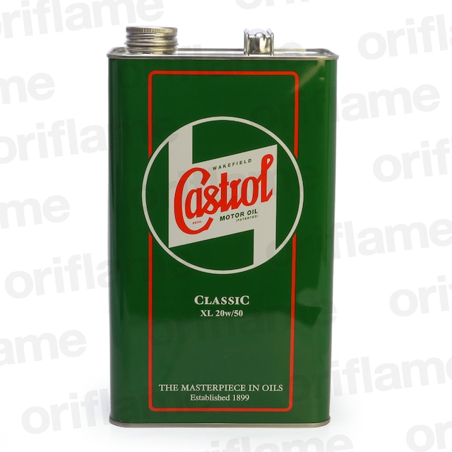 Castrol・カストロール・クラシック・オイル XL 20W-50 4.54L 鉱物油