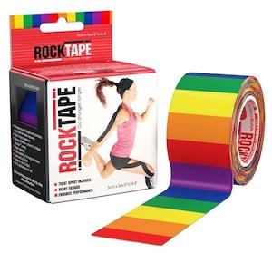 ロックテープ-スタンダード-レインボー / ROCKTAPE 5cm*5m  standard Rainbow