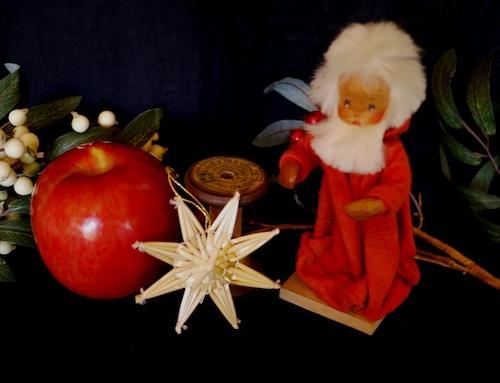 ドイツ クリスマス  ストロー オーナメント ヴィンテージ 藁飾り  クリスマスの星