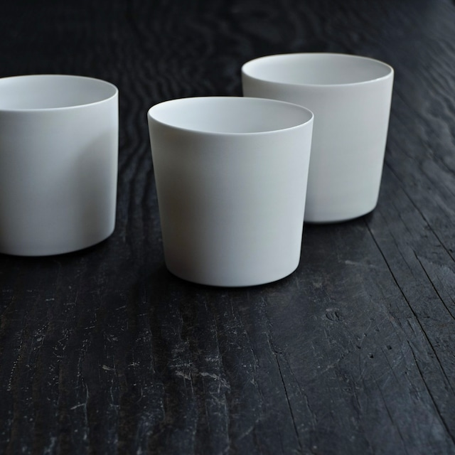 白カップ  2 murakami yuji