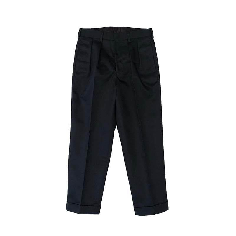 BROWN by 2-tacs / TAPERED SLACKS