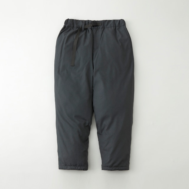 WM × TAION TWILLED DOWN PANTS - CHARCOAL