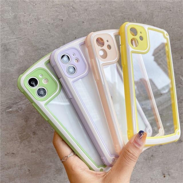 Simple 4 colors iphone case