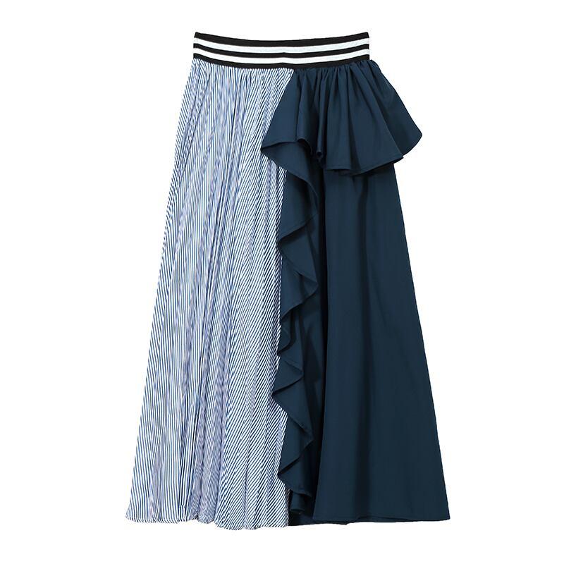 デザインプリーツスカート   1-120