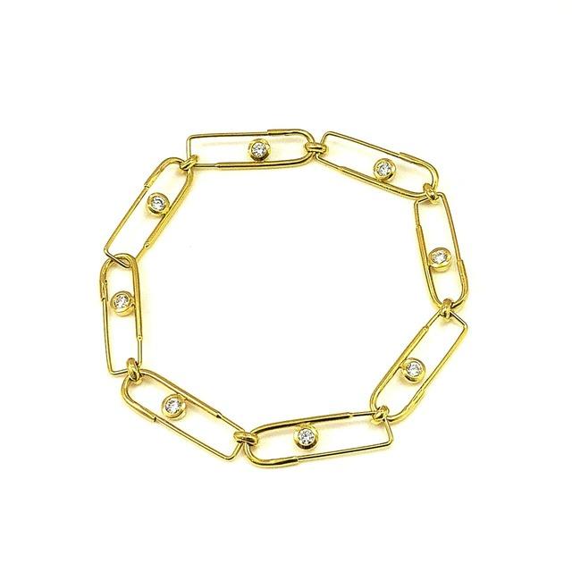 UCC-B2G Eternal PIN ゴールドコーティング ブレスレット