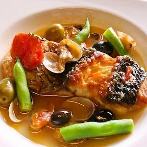 真鯛のアクアパッツァ (フレンチ惣菜 魚料理)【冷凍便】