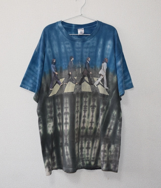 VINTAGE BAND T-shirt -THE BEATLES / ABBEY ROAD-