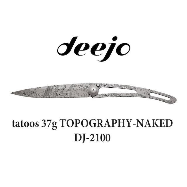 Deejo(ディージョ) naked 27g DJ-2002 アウトドア 折りたたみ ポケットナイフ キャンプ ナイフ サバイバル 登山 軽量