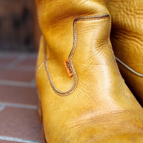 1970-80s Levi's Leather Long Boots / レア!リーバイス レザー ロング ブーツ