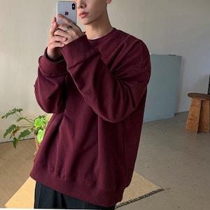 Drop sleeve round neck sweater   b-440