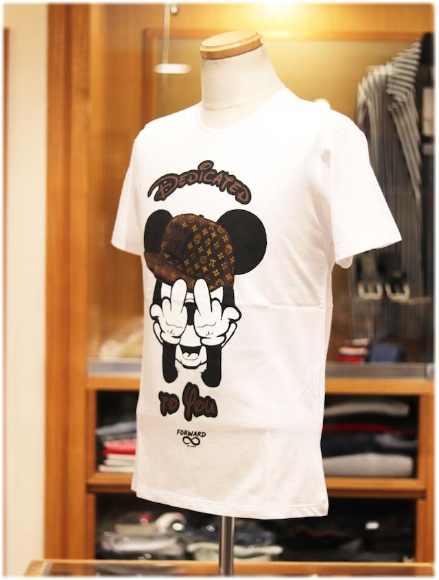 【 FORWARD MILANO 】    フォワードミラノ   - Italy -      クルーネック半袖Tシャツ
