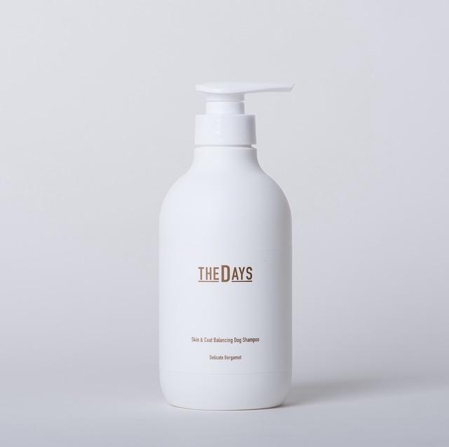 500ml】THE DAYS 犬用シャンプー ベルガモットの香り/Natural DOG Shampoo ドッグシャンプー
