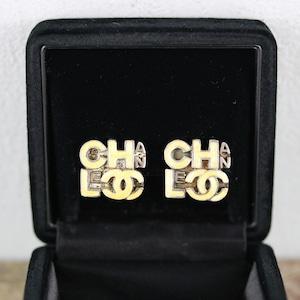 .CHANEL 00T COCO MARC LOGO EAR CLIPS MADE IN FRANCE/シャネルココマークロゴイヤリング 2000000048604