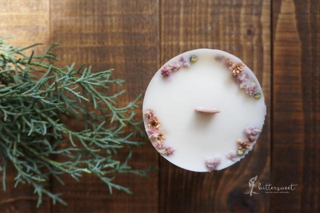 Botanical candle no.015