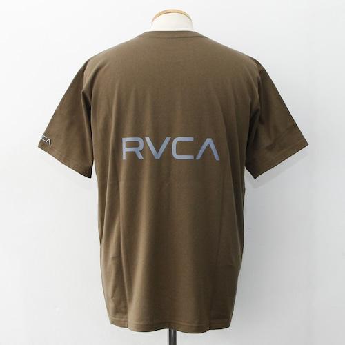 BACK RVCA TEE (Brown Green)