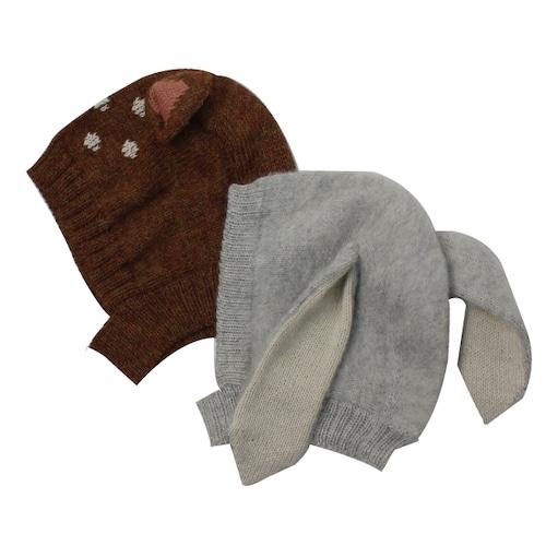 Oeuf Animal ニット帽子