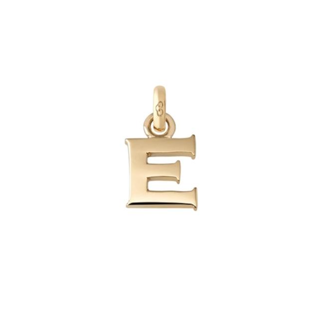 アルファベット E チャーム