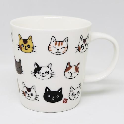 猫マグカップ(のあぷらすなごみ)ねこ顔