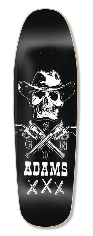 "BLACKLABEL Jason Adams ""Six Gun"" 9.63""x32"" deck ブラックレーベル ジェイソンアダムス"