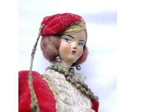 民族衣装人形 ポーズ人形 ロシア東欧
