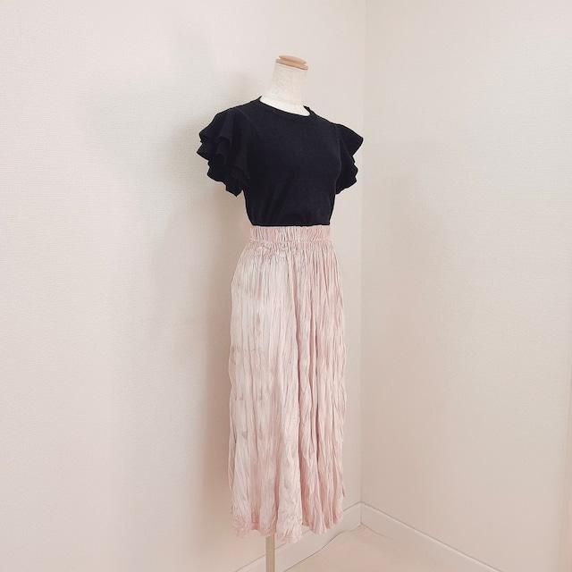 【ラスト1点送料無料】【即納】ベーシックロングスカート