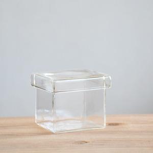 【ガラス容器】BOX S(62x62xh53mm)