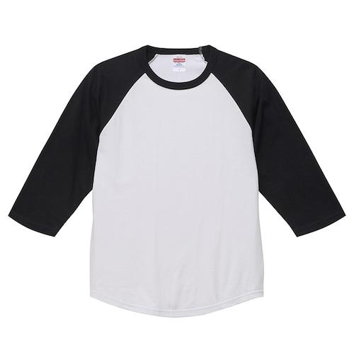 デザインチョイス : 5.6オンス ラグラン 3/4スリーブ Tシャツ