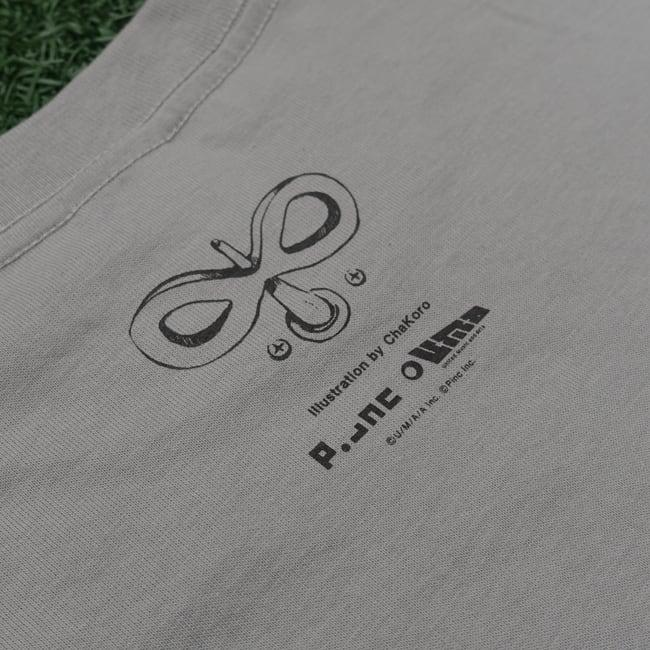 【残り僅か】sasakure.UK『トンデモ未来空奏図』Tシャツ シルバーグレー(メンズ) - 画像3