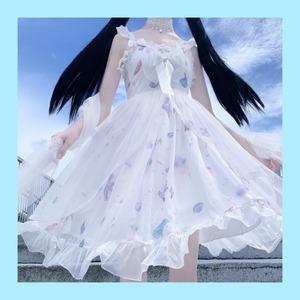 【お取り寄せ】ロリィタ シェル チュールJSK 2色