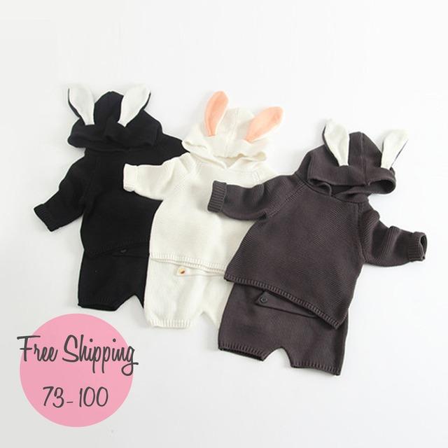 【韓国子供服】baby セットアップ 上下2点セット (501)