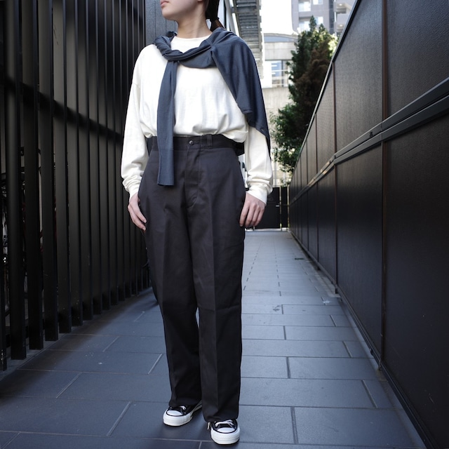alvana(アルヴァナ))ULTIMATE WIDE L/S TEE SHIRTS IVORY