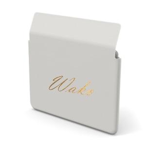 Custom Name Mac Book Premium Smooth Leather Case (Envelope Type) (Limited/10月分数量限定)