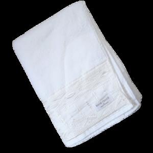 lathe bath towel / レースバスタオル